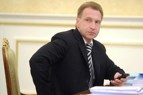 俄罗斯第一副总理伊戈尔·舒瓦洛夫。图片来源:塔斯社