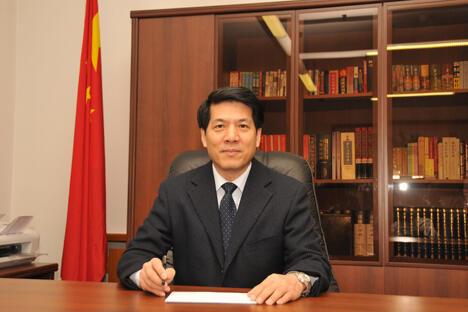 中华人民共和国驻俄罗斯联邦大使馆供图