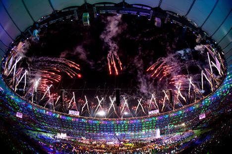 第十四届夏季残奥会于2012年 9月9日在英国伦敦落下帷幕。图片来源:俄新社
