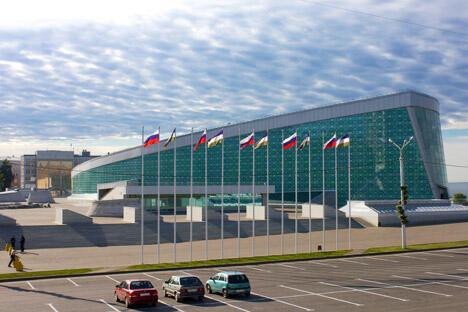 图中:乌法人民友谊大会堂(会议中心),图片来源:Lori/Legion Media