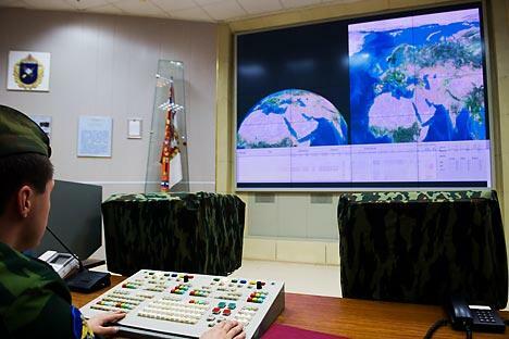 导弹防御系统无疑是俄美两国在安全领域的主要分歧所在。图片来源:塔斯社