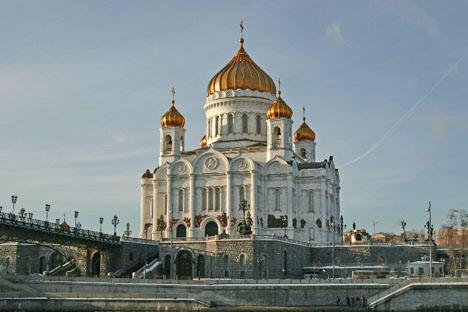 1931年12月5日,基督救世主大教堂因意识形态原因被毁。1994-1997年在原址重建。