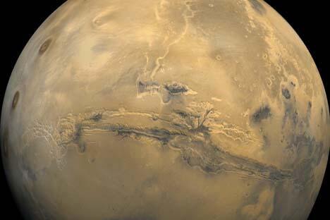 """将应用2010年6月至2011年11月间进行的""""火星-500""""试验使科学家对人类如何长期在太空停留有了更多的认识。图片来源:美国国家航空航天局"""