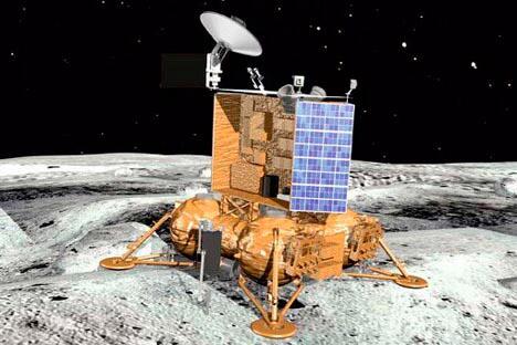 """""""月球-全球""""探测器。图片来源:PressPhoto"""