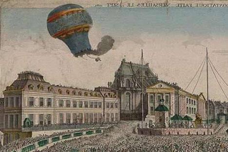 亚历山大一世解除了叶卡捷琳娜禁止在俄罗斯做浮空飞行的禁令。于是开始有外国人向莫斯科和彼得堡的观众做收费的氢气球浮空表演。