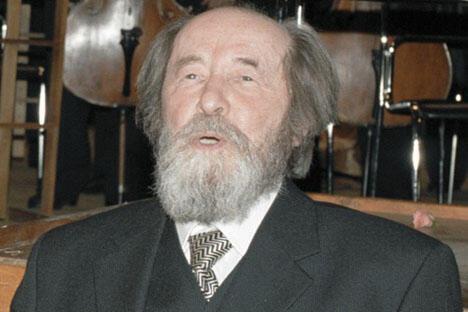 亚历山大•索尔仁尼琴于1998年12月。图片来源:俄新社