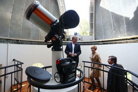 如今的高尔基公园天文台在外观上已与上世纪50年代大不相同,里面的设备也已更换一新。图片来源:PhotoXPress