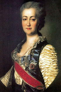 皇家俄罗斯研究院第一任院长叶卡捷琳娜·达什科娃。
