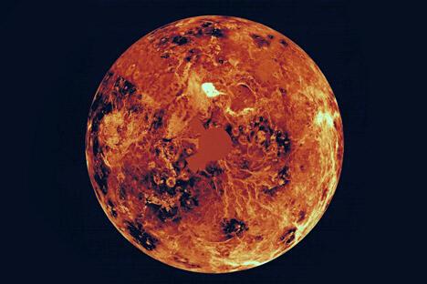 """根据规划,将于下一个10年中期向金星发射自动星际站。鉴于该项目的技术难度以及需要首先恢复着陆器制造工艺的必要性,""""金星-D""""项目中的发射工作不会早于2024年前启动。图片来源:美国航空航天局"""