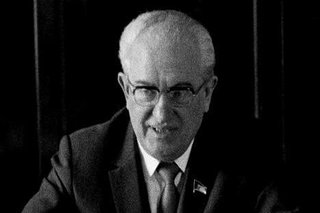 苏联共产党中央委员会总书记尤里·安德罗波夫。