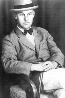 瓦西里·奥谢普科夫在日本,1924年。