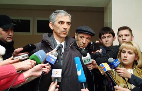 2004年被判14年徒刑俄物理学家将于近期获释。图片来源:塔斯社