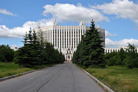 俄罗斯联邦武装力量总参谋部军事学院大楼。图片来源:Lori/LegionMedia