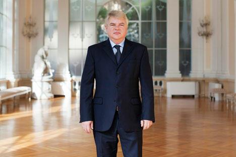 俄罗斯常驻联合国粮农组织及世界粮食计划署代表列克谢•梅什科夫。摄影:Michele Palazzi