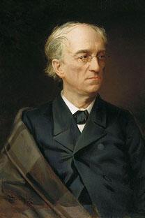 费奥多尔·丘特切夫肖像,斯捷潘•亚历山大罗夫斯基作于1876年。