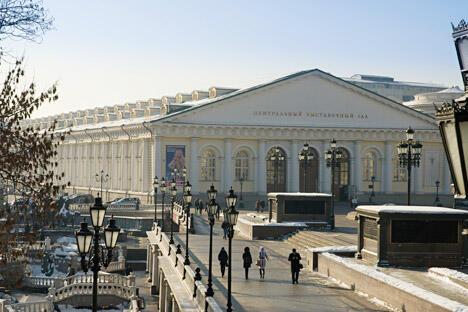 马涅什大殿的设计师是著名工程师阿夫古斯京·别坦库尔。图片来源:Lori/LegionMedia