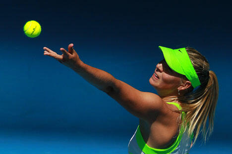 俄罗斯女性将要承担在澳网比赛中维护国家荣誉的重任。目前,共有10名俄罗斯女子网球选手进入世界前100名,约有40名选手进入排名前500位。图片来源:俄新社