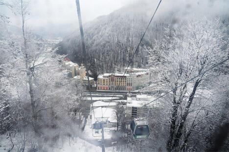 """图中:""""玫瑰庄园""""滑雪场 。图片来源:Flickr / tomkellyphoto"""