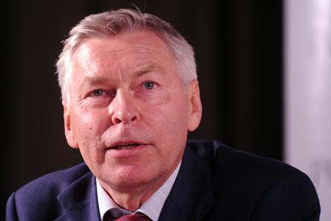图中:弗拉基米尔·菲利波夫(Vladimir Filipov)。图片来源:塔斯社
