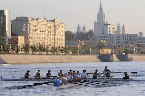 美国模式将成为俄罗斯高校体育改革首选目标。图片来源:塔斯社