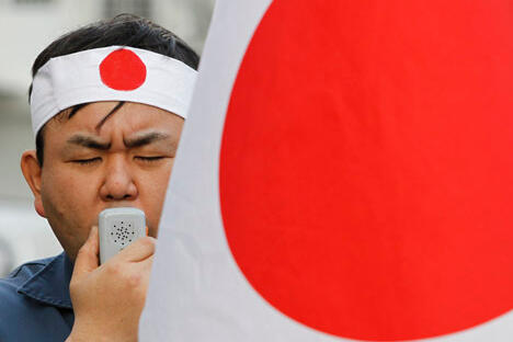 如果再次向俄罗斯民众解释南千岛群岛自古以来为日本领土的 话,那么俄罗斯民众就应该兴高采烈的接受这一理论并要求总统向日本归还这些领土。图片来源:Reuters