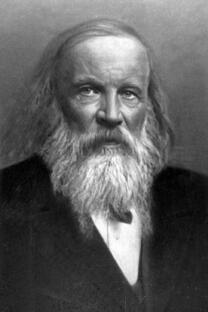 俄国化学家德米特里•门捷列夫
