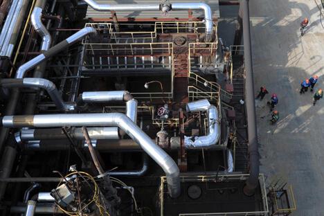 """俄罗斯油气业者联盟首席专家鲁斯塔姆·坦卡耶夫(Rustam Tankaev)认为,按照俄自然资源部给出的数字计算,增加资源储量是现实可行的。""""但天然气储量和产量的增加只在其无法自给自足的地区才有意义。""""图片来源:塔斯社"""