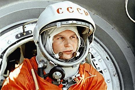 瓦莲京娜•捷列什科娃。图片来源:俄新社