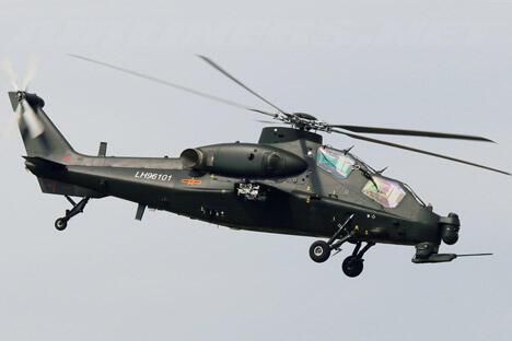 俄卡莫夫设计局总设计师指称中国武直-10飞机设计源自俄项目。图片来源:Wikipedia