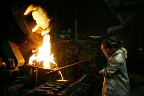 俄罗斯诺里尔斯克镍业公司是俄罗斯钯镍生产企业,该公司针对在印度尼西亚建立铜冶炼厂进行可行性研究。图片来源:Reuters