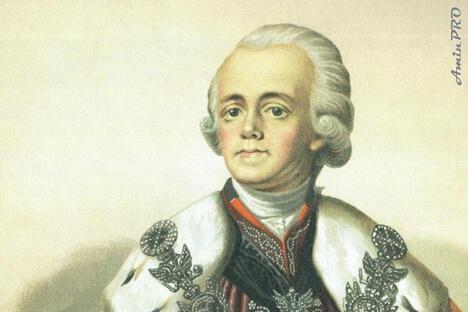 俄国皇帝保罗一世。