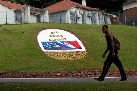 金砖五国在非洲大陆上展开了相互竞争,而要在发展中国家中起表率作用,他们需要找到一种共同协作的方法。图片来源:Reuters