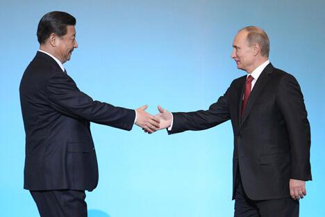 中国新领导人对俄罗斯的访问表明,莫斯科和北京正在成为最亲密的盟友。图片来源:俄罗斯报