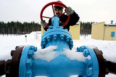 俄罗斯最大的独立天然气生产商诺瓦泰克可能会根据公司上一年经营状况向股东增发120亿卢布的红利。图片来源:Reuters