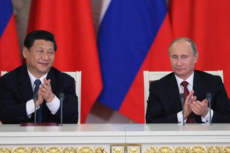 习近平访俄促进两国开展全方位合作 能源金融领域尤为突出。图片来源:俄罗斯报