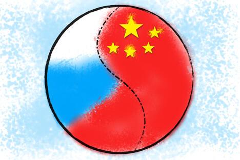 俄罗斯出于政治和经济两方面原因需要与中国建立战略协作伙伴关系。中国是俄罗斯重要的战略伙伴,正是因为有此关系存在(以及同其他亚洲国家的关系)才使得俄罗斯政策没有向单一化发展,并且具有了自己的特色,而俄罗斯也成为影响世界的力量之一。制图:Niyaz Karim