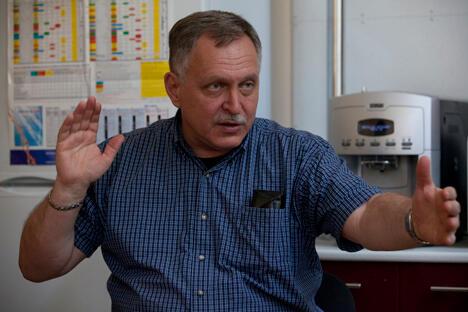 图中:俄罗斯科学家康斯坦丁·阿格拉泽(Konstantin Aglaze)。图片来源:俄罗斯报