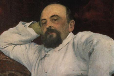 萨瓦•伊万诺维奇•马蒙托夫肖像。
