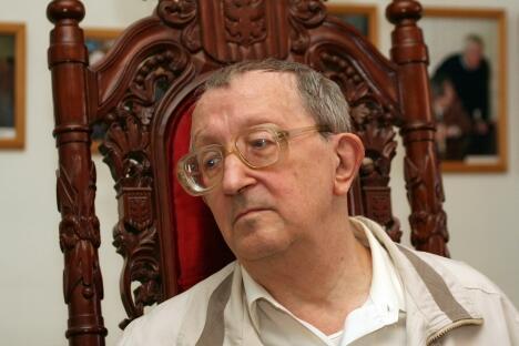 苏俄科幻小说家鲍里斯·斯特鲁加茨基。图片来源:俄通社-塔斯社