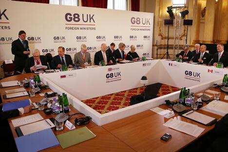 各国外长就国际热点进行协调立场,并在此次会议后发表的公报中予以确定。图片来源:GettyImages/Fotobank