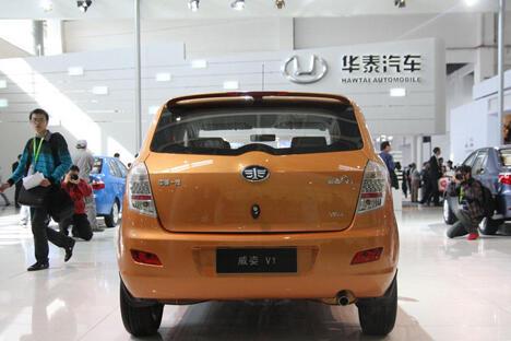 现在,中国最老牌的汽车制造商一汽集团也开始了在俄罗斯市场上的扩张。图片来源:china-faw.ru