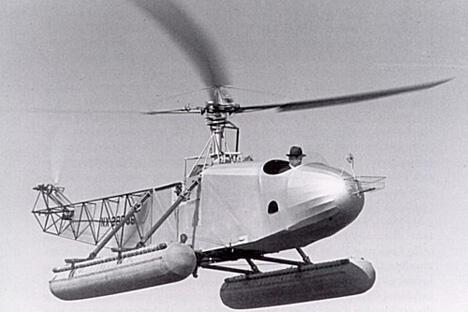 西科斯基设计的第一款VS-300试验直升机于1939年9月份飞上了天空。