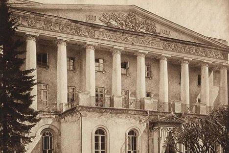 圣凯瑟琳贵族女校,1913年。
