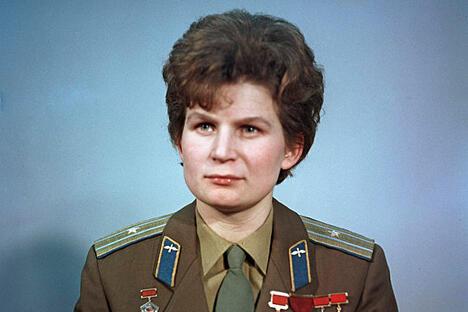 瓦莲京娜·捷列什科娃。图片来源:俄新社