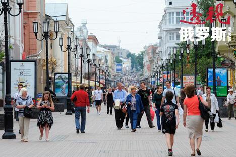 大波克罗夫街是这座城市最古老的街道之一。街道两边的百年老建筑一直被保存至今。摄影:Andrey Mindryukov