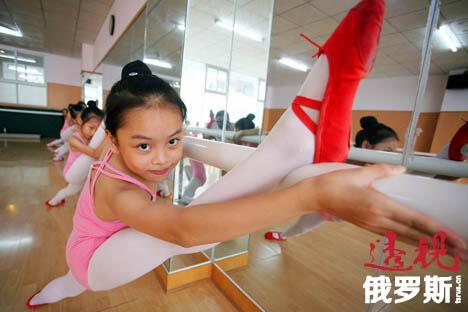俄罗斯艺术家为中国芭蕾舞艺术的形成和发展做出杰出贡献。图片来源:AFP