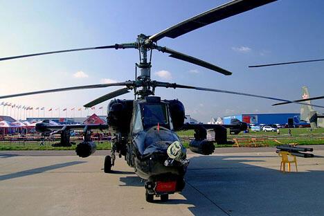 卡-50直升机。摄影:Simm