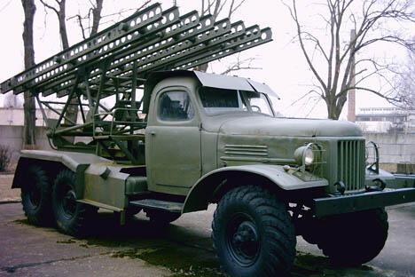 喀秋莎火箭炮。图片来源:arms.ru