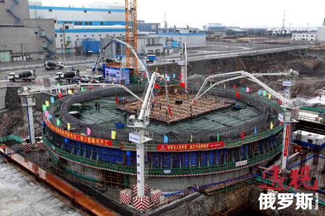 田湾核电站。图片来源:AFP/East News