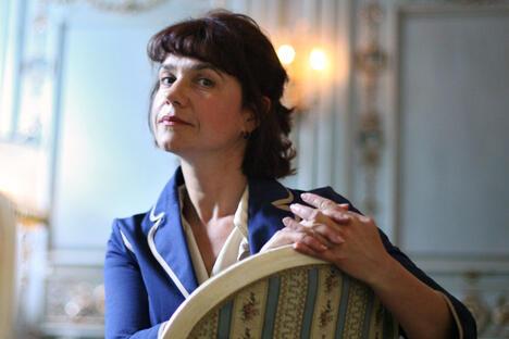 玛丽娜•洛沙克(Marina Loshak)将于7月10日正式出任普希金造型艺术博物馆馆长。图片来源:生意人报